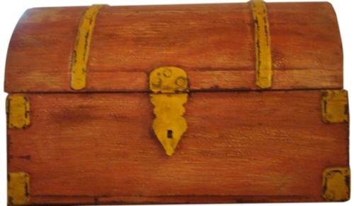 Painted Furniture-Storage Box