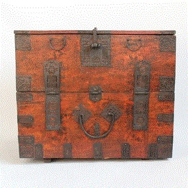 Antique Mongolian Chest