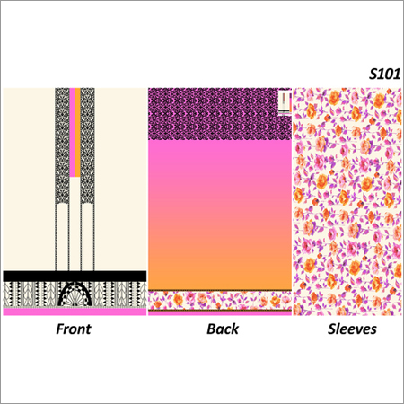 Ladies Cotton Printed Fabrics