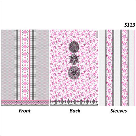 Printed Ladies Unstitched Suit Fabrics