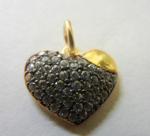 Love Heart Charm Pendant