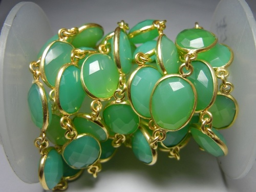 Chrysoprase Station Chain