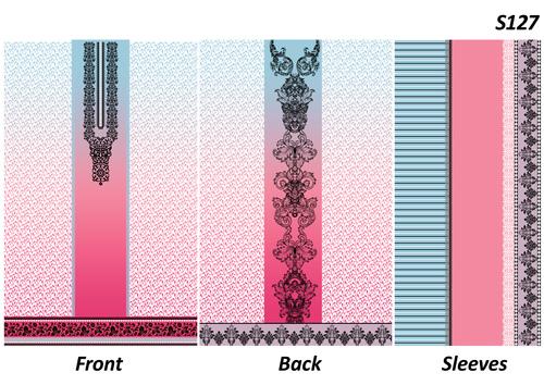 Printed Cotton Ladies Dress Material Fabrics