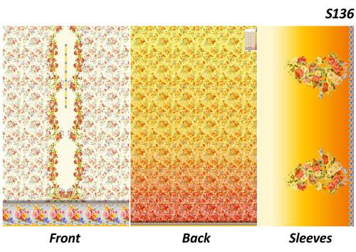 Dress Printed fabric