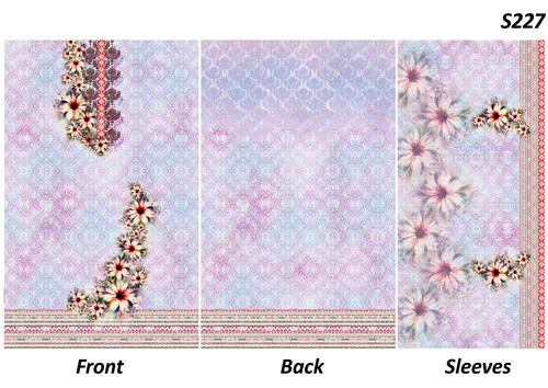 Ladies Printed Fabrics