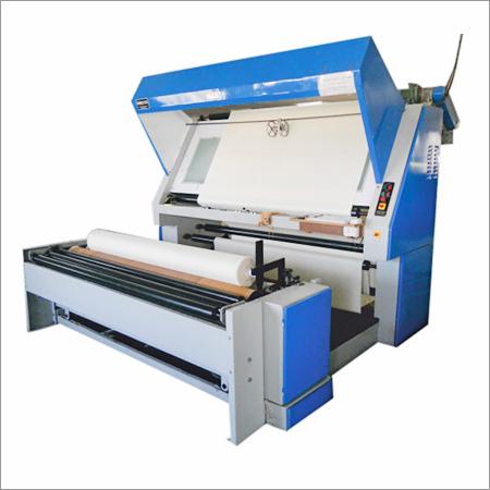 Fabric Inspection Cum Mending Machine