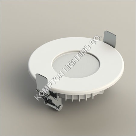 3W Round Backlid Panel Front