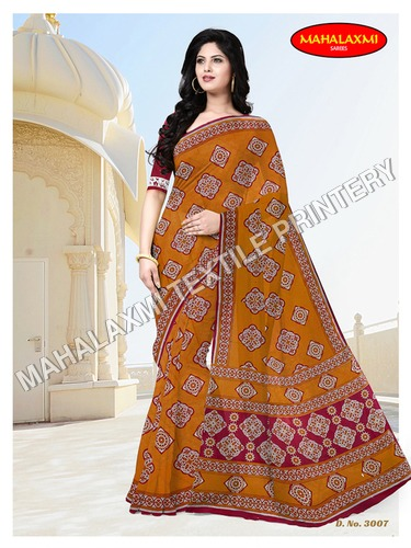 Cotton Saree Catalog Jetpur