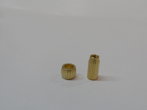 Straight Knurling Brass Inserts