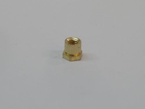 Brass Round Hex Inserts