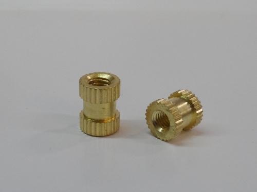 Brass Round Knurling Inserts