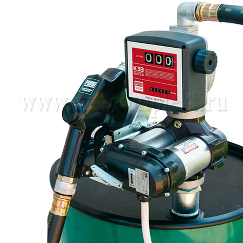 Piusi Bi-pump with Flow Meter