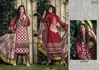 Fancy Cotton Dress Material