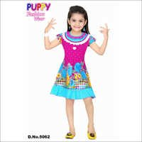 Girl Fancy Partywear Frock