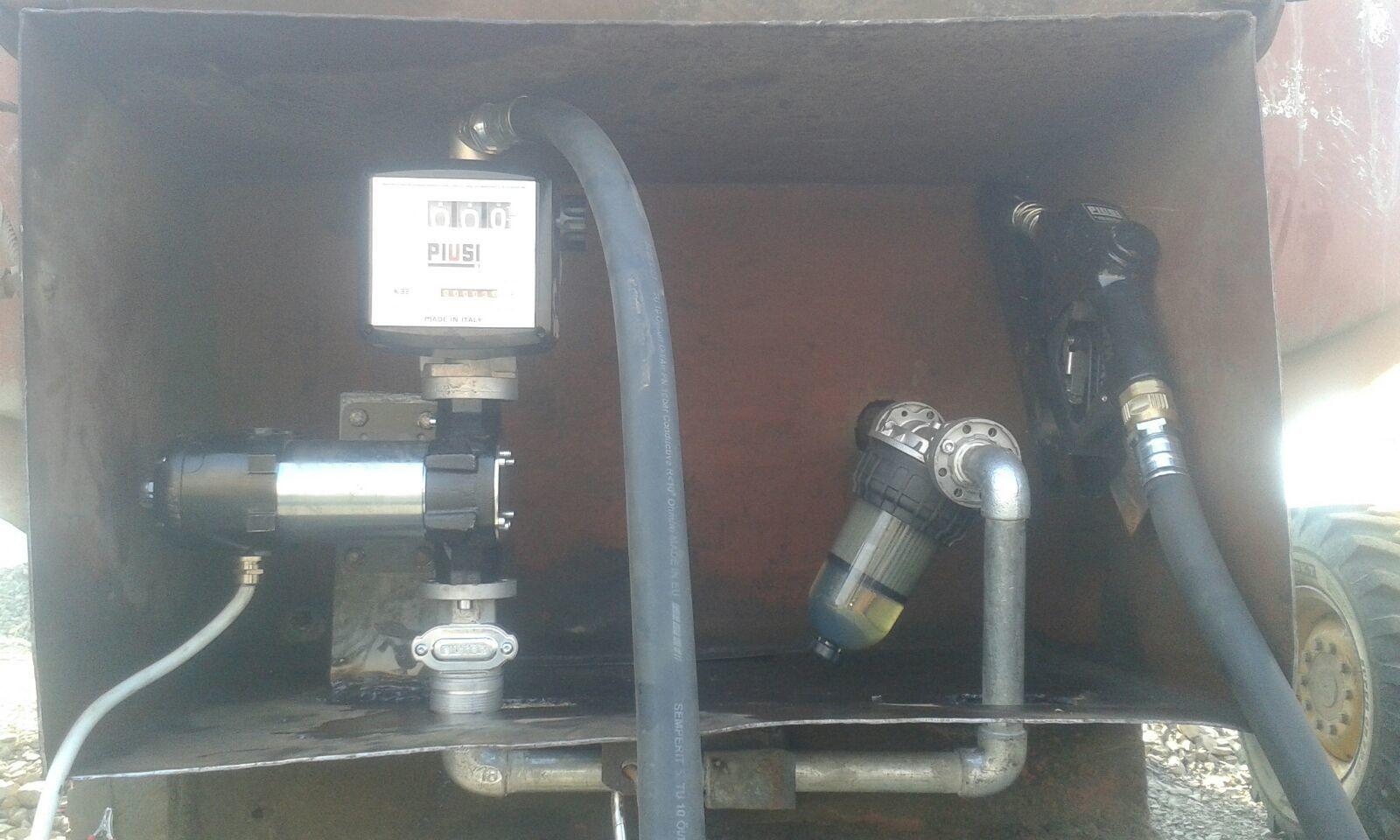 Piusi Bi-pump with Flow Meter