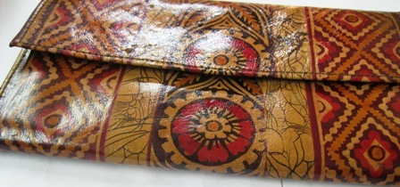 Hand Painted Wallets