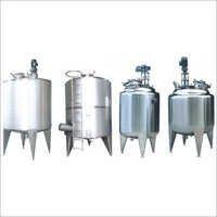 SS Liquid Storage Vessel