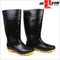 Hillson Gumboots Dragon Black-Yellow