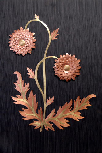 Metal Crafted Flower