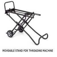 Moveable Stand For Pipe Threading Machine