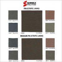 Pin Strip Lining & Medium Pin Stripe Lining