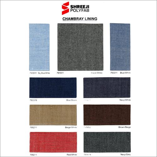 Chambray Lining Fabric