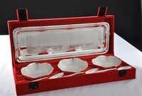 Designer Bowls and Tray Set