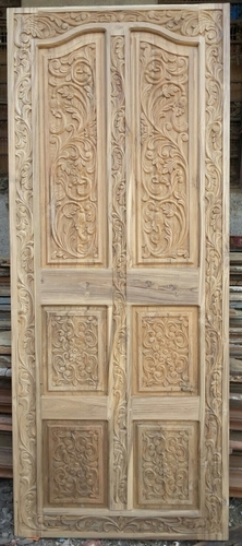 Artwork Teak Wooden Doors