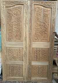 Ghana Teak Wood Doors