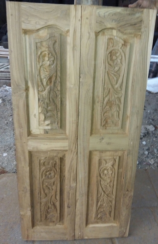 Old Teak Wood Doors