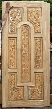 Teak Doors Carving Designs