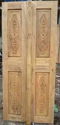 Teak Wood Doors Manufacturer