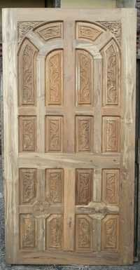 Teak Wood Entrance Door