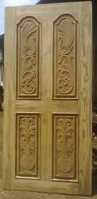 Teak Wood Main Door