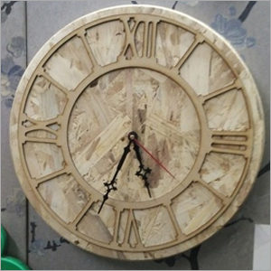 Corporate Wooden Clock