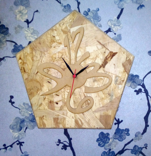 Customized Wooden Clock