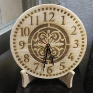 Nautical Wooden Clock