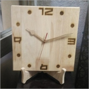 Wooden Table Top Clock