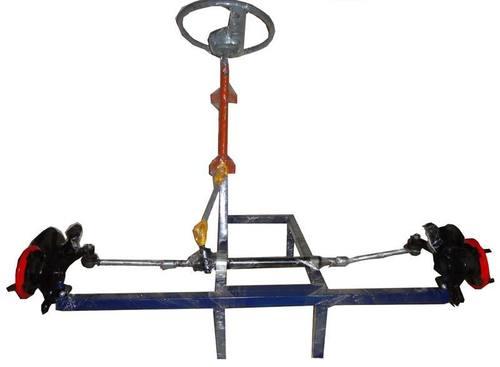 Actual Working Model of Power Steering of Car