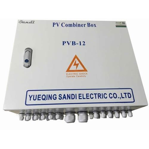 Pv Dc Combiner Box With Breaker
