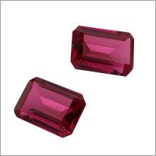 Synthetic Ruby Gemstone