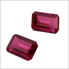 Synthetic Ruby Gemstone
