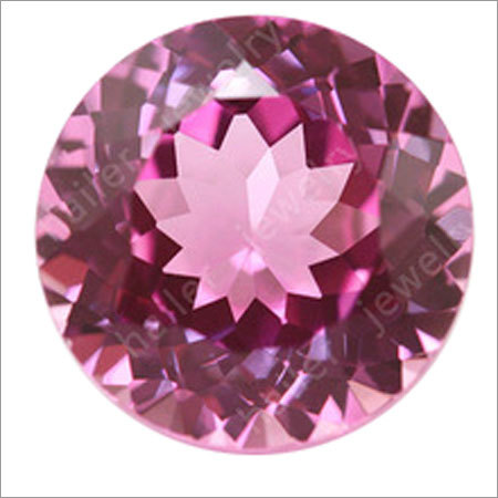 Synthetic Ruby Faceted