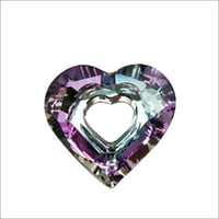 C Z Heart Gemstone