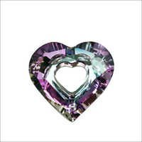 C Z Heart Gemstone