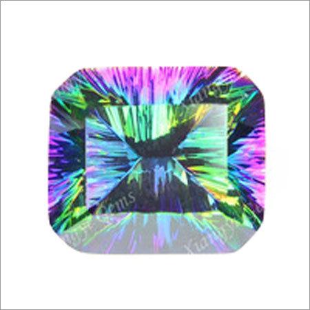 Multicolor Crystal - Concave Cut