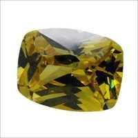 Cushion Cut Cz Gemstone