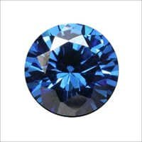 Cubic Zirconia Blue Gemstone