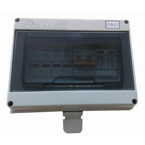 Pv Dc Combiner Box 2 In 1 Out For Solar Panel