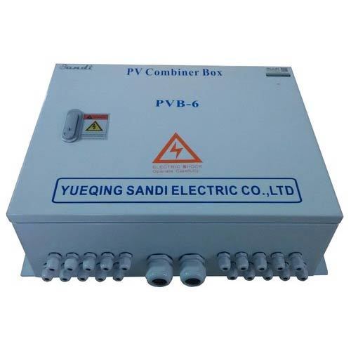 6  Input Pv Solar Array Combiner Boxes